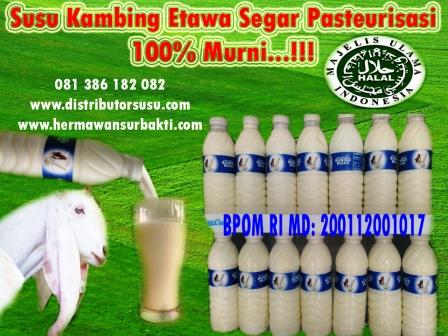 Jual Susu Kambing Etawa Murni di Medan