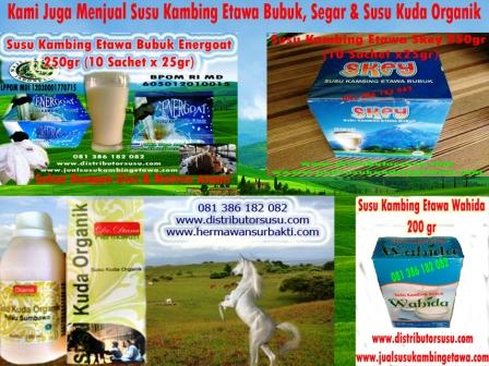 Distributor Susu Kambing Etawa Bubuk Skey Di Medan
