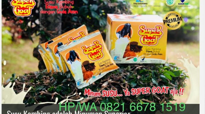 Susu Kambing SuperGoat Gula Aren